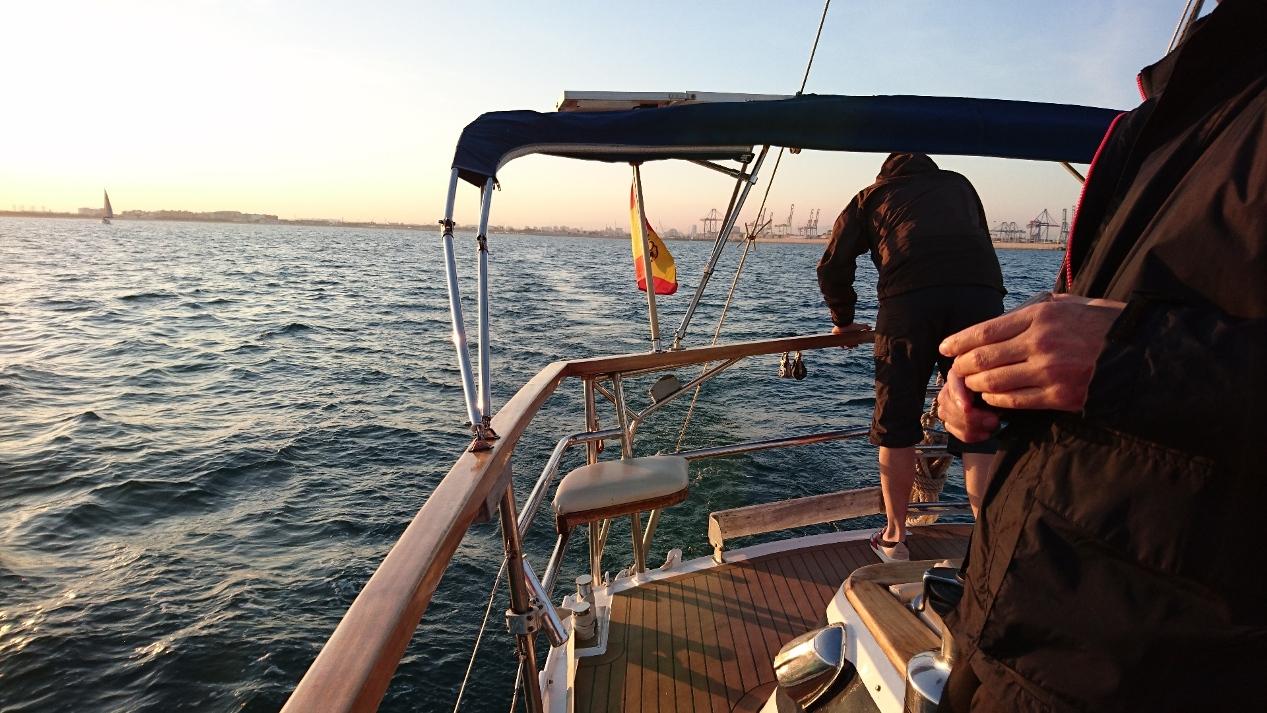 Popa del SirocoDiez en aguas de Valencia
