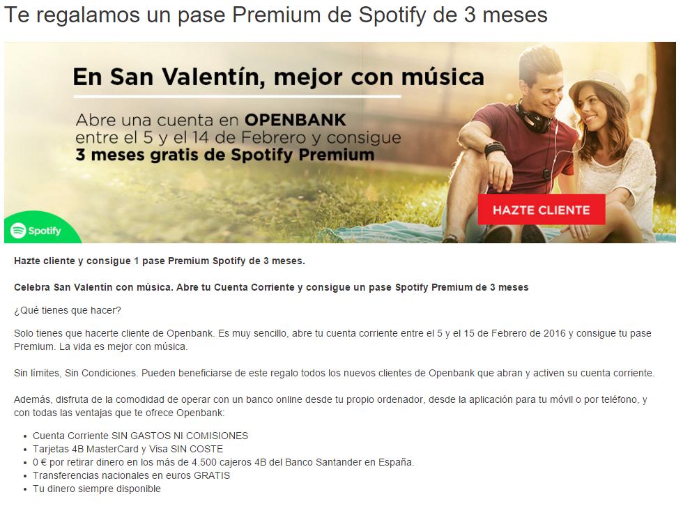 Openbank-Spotify